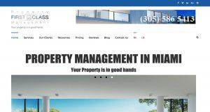 Property First Class Management